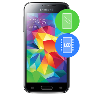 /Samsung Galaxy S5 Mini (G800F) Remplacement vitre / LCD