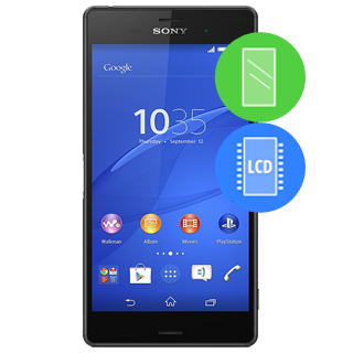 /Sony xperia Remplacement vitre / LCD